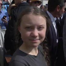 Švedska aktivistica Greta Thunberg kod pape Franje (Video: Dnevnik Nove TV)