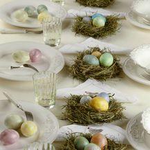 Ideje za ukrašavanje uskrsnog stola - 2