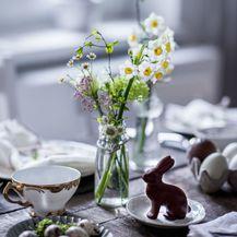 Ideje za ukrašavanje uskrsnog stola - 3