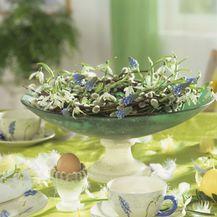 Ideje za ukrašavanje uskrsnog stola - 8