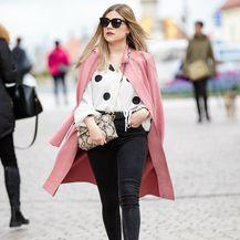 Petra je zagrebačkom Bakačevom ulicom prošetala u odličnoj proljetnoj kombinaciji
