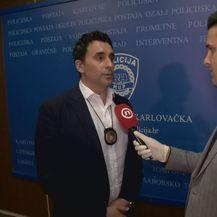 Romano Benković, Službe kriminalističke policije PU karlovačke, i Domagoj Mikić (Foto: Dnevnik.hr)