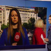 Barbara Štrbac iz Beograda javlja detalje o prosvjedu (Video: Vijesti u 17h)