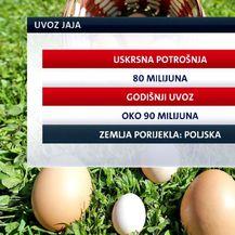 Graf za uvoz jaja (Foto: Dnevnik.hr)