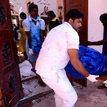 Posljedice eksplozija na Šri Lanci (Foto: AFP) - 1