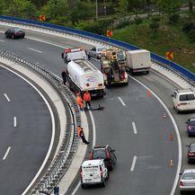 Izbjegnuta tragedija na vijaduktu Svilno (Foto: Goran Kovacic/PIXSELL) - 2