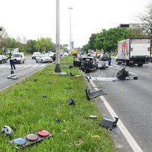 Prometna nesreća na Slavonskoj aveniji (Josip Regovic/PIXSELL) - 6