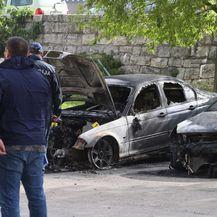 Izgorio BMW u Solinu (Foto: Ivo Cagalj/PIXSELL) - 2