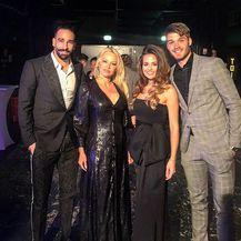Duje Ćaleta Car, Adriana Đurđević, Pamela Anderson, Adil Rami (Foto: Instagram)