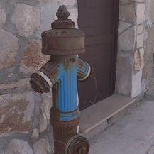 Hidrant na otoku Drveniku Malom (Foto: Dnevnik.hr)