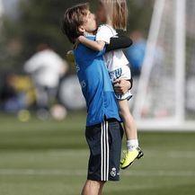 Luka i Ema Modrić (Foto: Instagram)