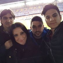 Zlatko, Davorka, Bruno i Toni Dalić (Foto: Instagram)