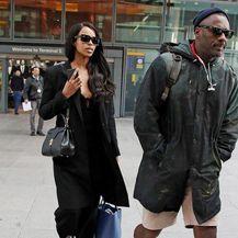 Idris Elba i Sabrina Dhowre (Foto: Profimedia)