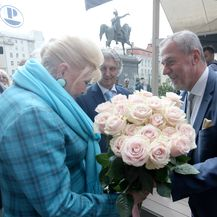 Ivana Trump i Milan Bandić (Foto: Dalibor Urukalovic/PIXSELL)