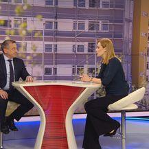 Ministar Predrag Štromar gostuje u Dnevniku Nove TV (Foto: Dnevnik.hr)