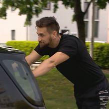 Vježbanje Tomislava Lubenjaka (Foto: Dnevnik.hr)