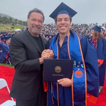 Joseph Baena i Arnold Schwarzenegger (Foto: Instagram)