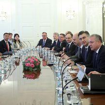 Sastanak u Banskim dvorima (Foto: Goran Stanzl/PIXSELL)
