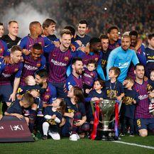 Barcelona slavi naslov prvaka (Foto: AFP)