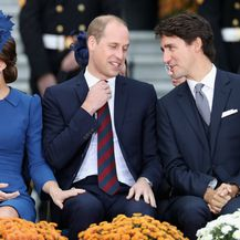Par na kraljevskoj turneji u Kanadi 2012. godine