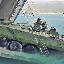 Vojna vježba bojnih vozila Patria u Splitu (Foto: OJI HRM) - 3
