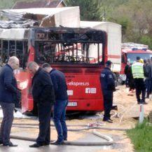 Sudar kamiona i autobusa u mjestu Barlovo u Srbiji (Foto: Telegraf.rs)