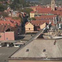 Pogled iz zraka na štetu nastalu nakon potresa - 2