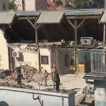 Pogled iz zraka na štetu nastalu nakon potresa - 4
