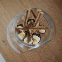 Brza i jednostavna čokoladna jaja na oko u žlici - 5