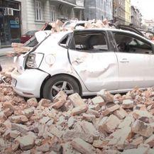 Ruševina u Zagrebu