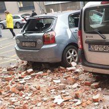 Šokantni prizori nakon potresa u Zagrebu