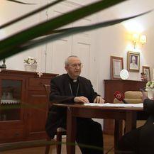 Mons. Želimir Puljić, zadarski nadbiskup, i Sanja Jurišić - 3