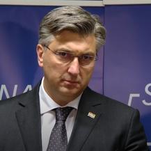 Andrej Plenković uoči Predsjedništva HDZ-a