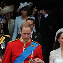 Princ William, princ Harry i Kate Middleton