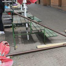 Pala konstrukcija na Trgu bana Josipa Jelačića - 2