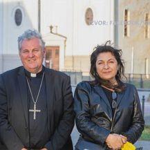 Ante i Dunja Gotovina u posjetu Sisačkoj biskupiji - 1
