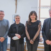 Ante i Dunja Gotovina u posjetu Sisačkoj biskupiji - 2