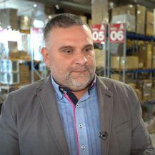 Robert Vrbanić, vlasnik tvrtke koja se bavi logistikom