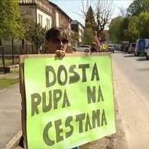 Prosvjed u Petrinji - 2