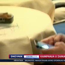 Kampanja u zamahu (Video: Dnevnik Nove TV)