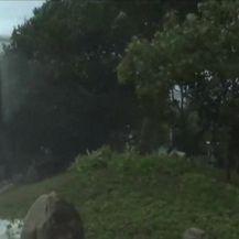 Tajfun Hato poharao Hong Kong (Video: AP)