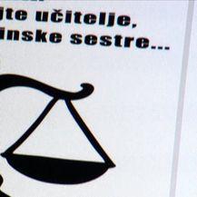 Sindikati se pripremaju za prosvjed (Video: Dnevnik Nove TV)
