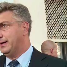 Premijer o HOS-ovoj ploči (Video: Dnevnik.hr)