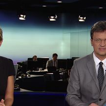 Iznenadni sastanak vodstva HDZ-a zbog HOS-ove ploče (Video: Dnevnik Nove TV)