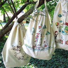 Kolo ruksaci s ilustracijama Lane Hudine iz brenda Lana's Duckass