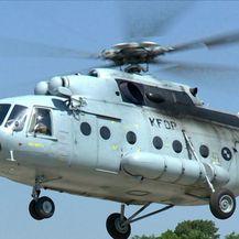 Helikopterom prevezeno srce za transplantaciju (Video: Vijesti u 17h)