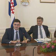 Plenković i Marić predstavljaju izmjene (Foto: dnevnik.hr)