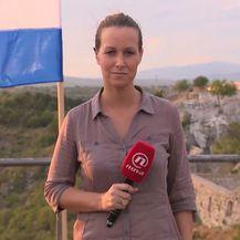Barbara Štrbac uživo iz Knina o pripremama za obljetnicu Oluje (Foto: Dnevnik.hr) - 1