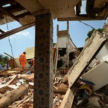 Potres na Lomboku (Foto: AFP)