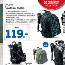 Školska torba, LIDL, 119 KN